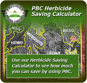 Herbicide Saving Calculator
